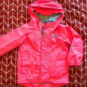 The North Face Toddler Girls Rain Jacket Size 2